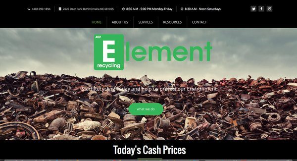 Element Recylcing Omaha Nebraska